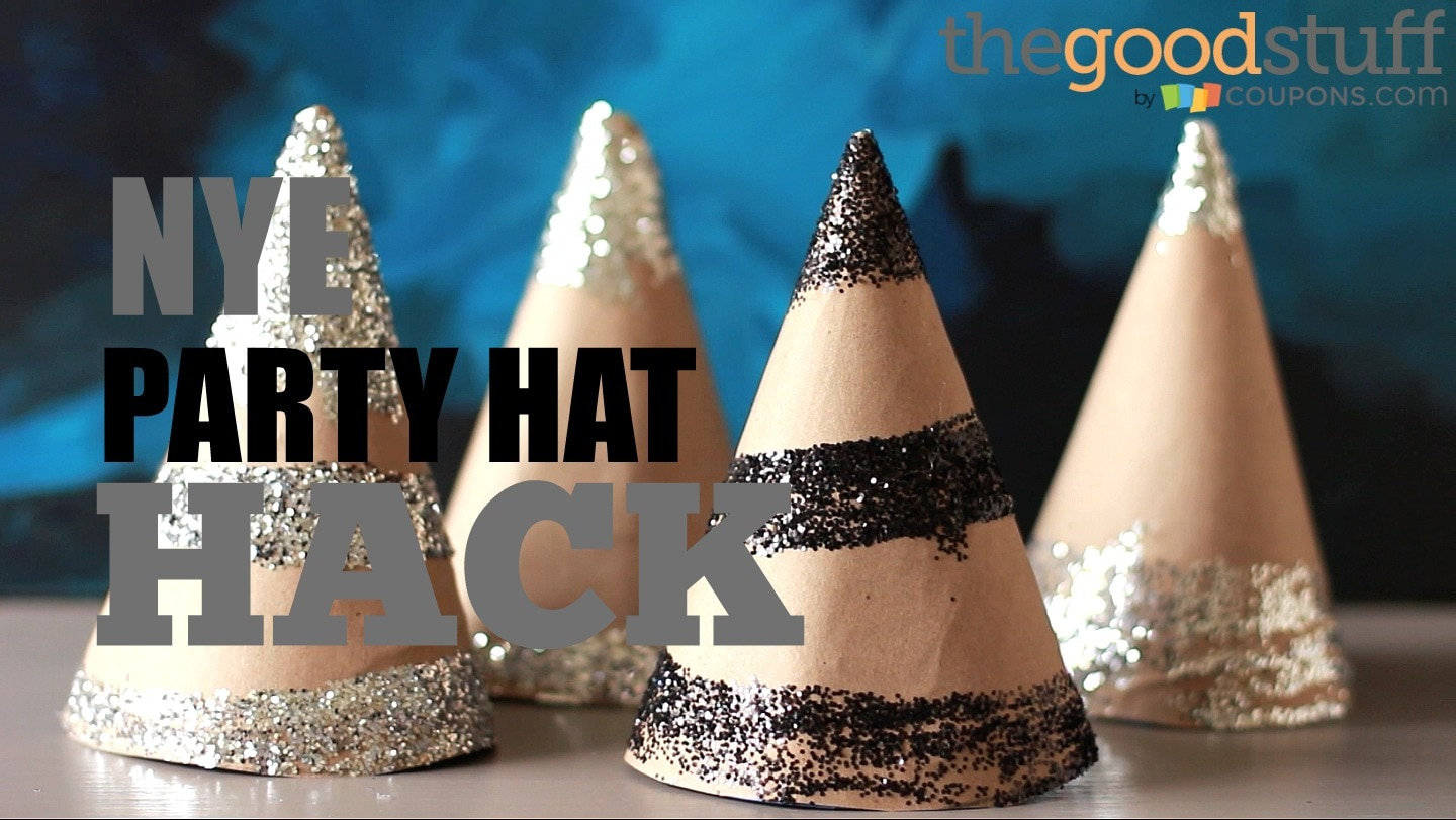 Party Hack: Make Your Own New Years Eve Hats! | thegoodstuff