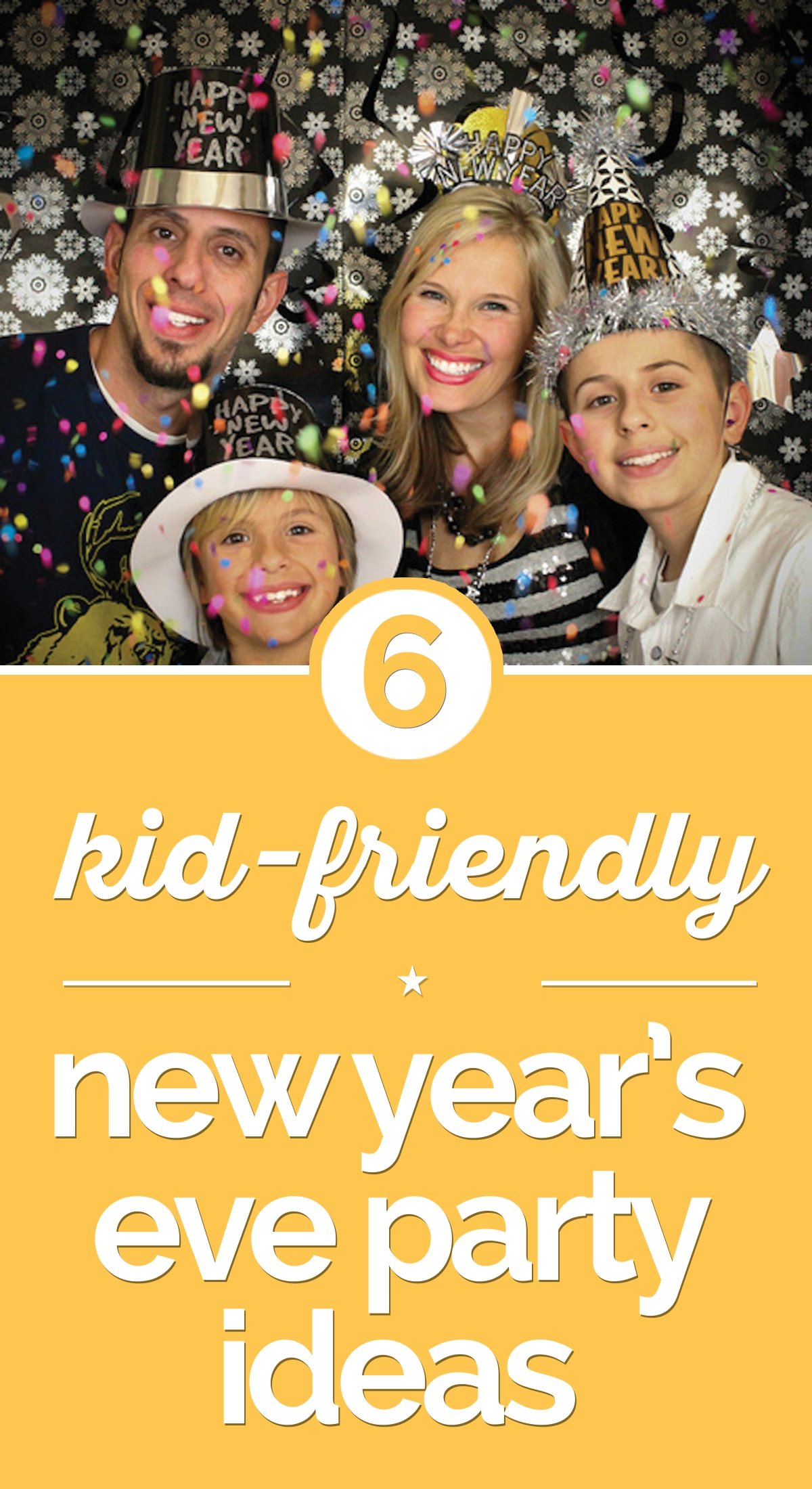 6 Kid Friendly New Years Eve Party Ideas Thegoodstuff