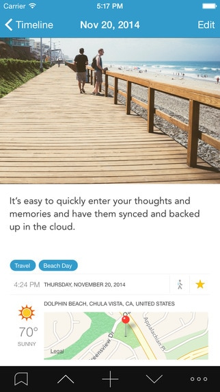 A New Year's Resolution App: Day One | thegoodstuff