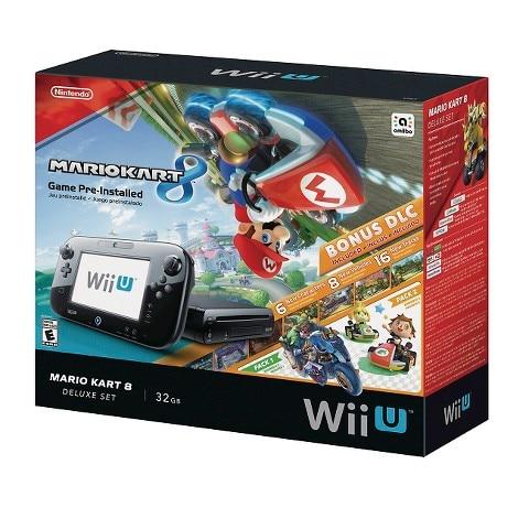 Nintendo Wii U Mario Kart 8 Deluxe Set Bundle