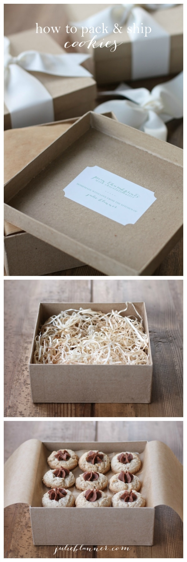 20 Tips for Packaging Christmas Cookies: Packaging Cookies for Shipping | thegoodstuff