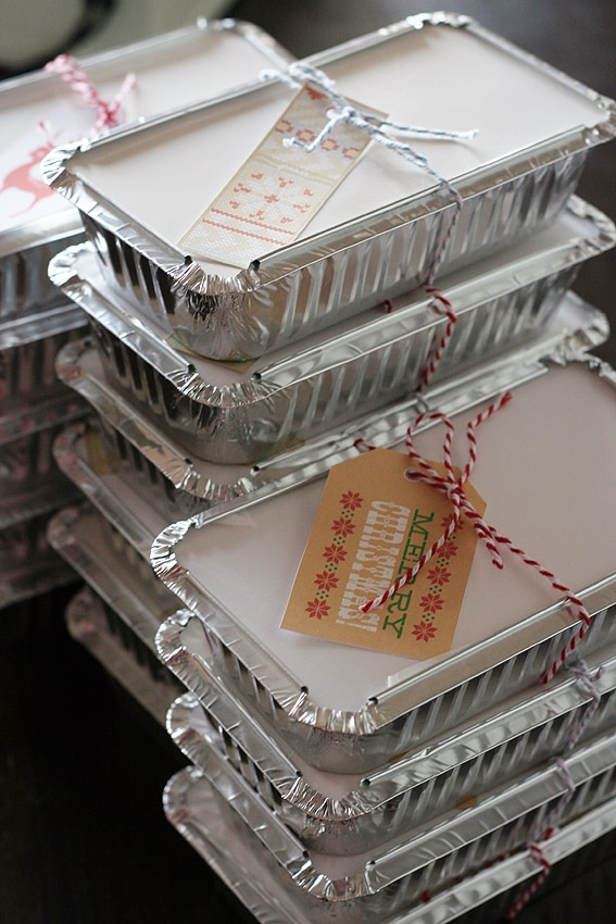 20 Tips for Packaging Christmas Cookies: To-Go Containers | thegoodstuff