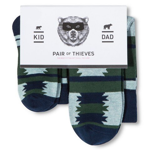 Pair of Thieves Dad:Kid Sock Sets