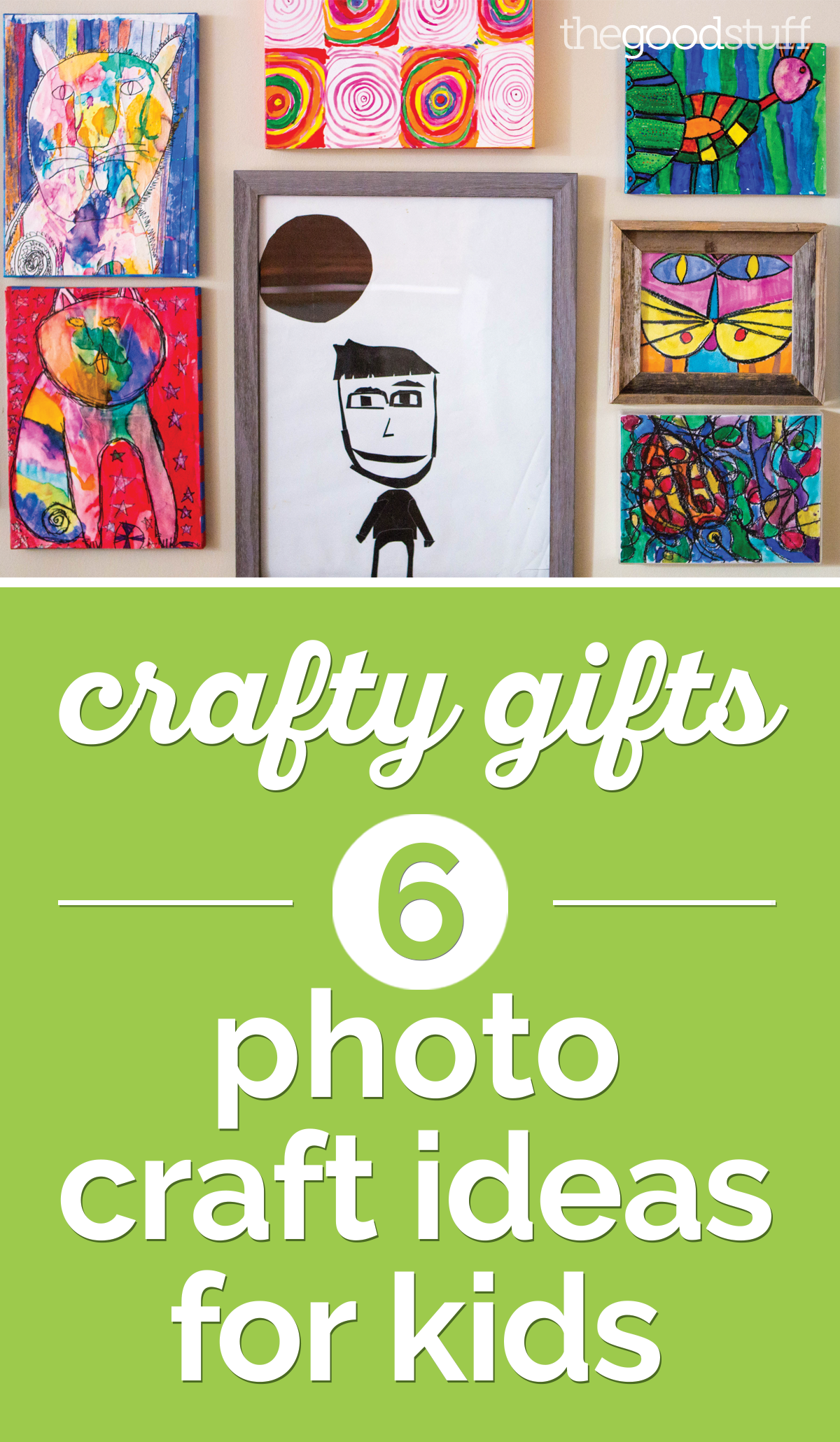 Crafty Gifts: 6 Photo Craft Ideas for Kids | thegoodstuff