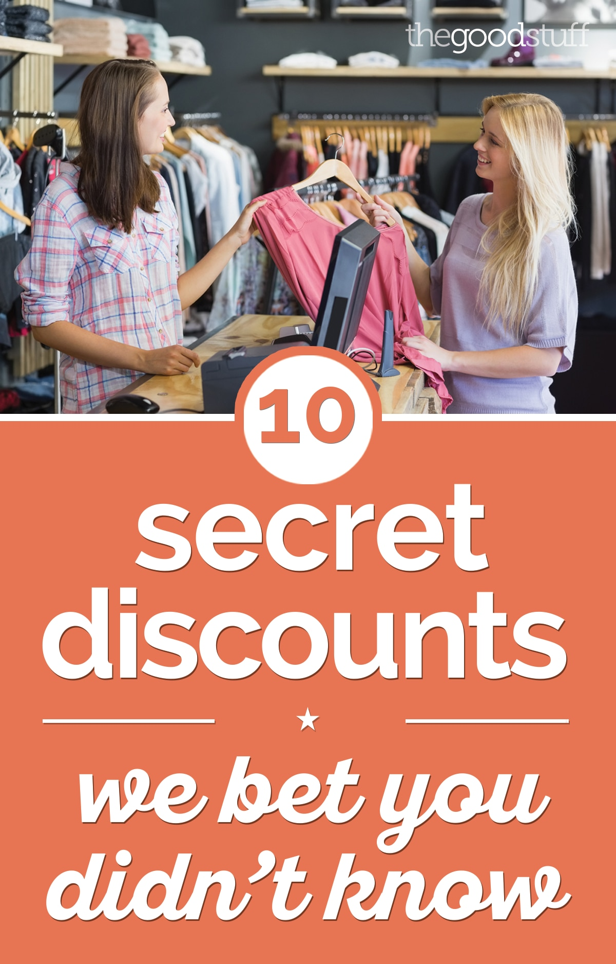 10 Secret Discounts We Bet You Didn't Know | thegoodstuff