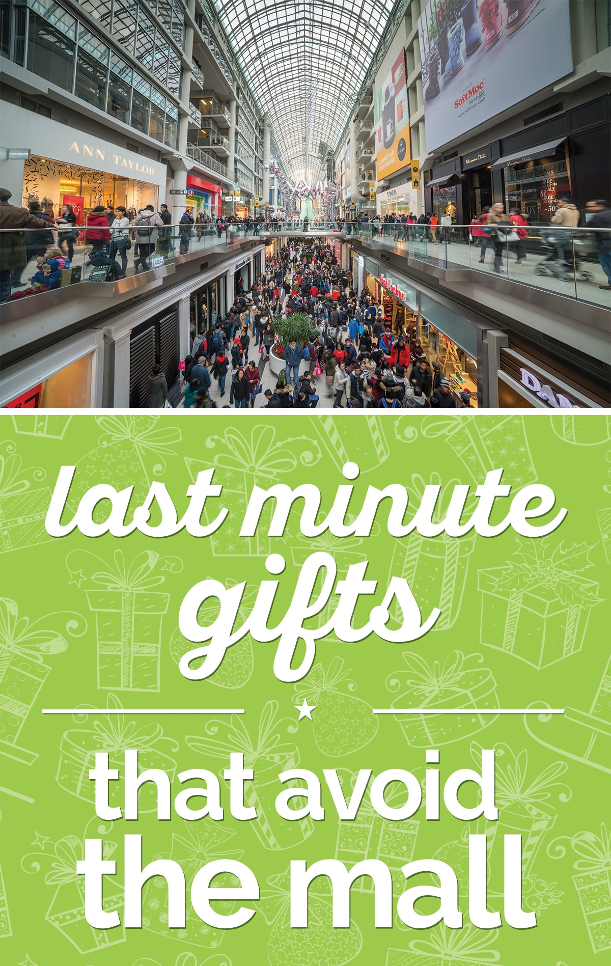 Shopping Zen: Last Minute Gifts that Avoid the Mall | thegoodstuff