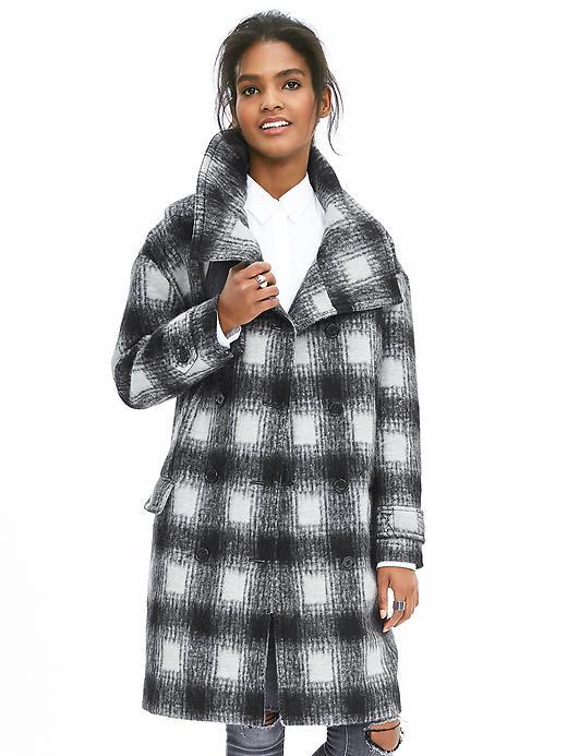 plaid-coat