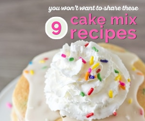 9 Cake Mix Recipes You Won't Want to Share | thegoodstuff