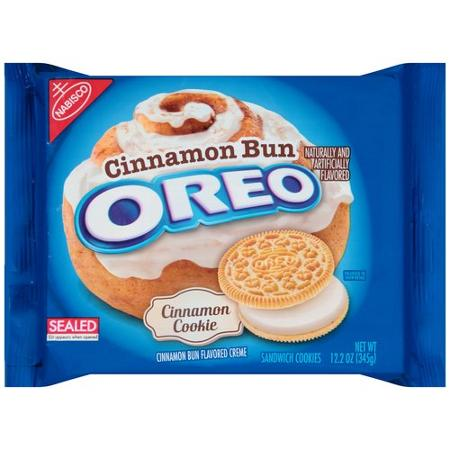 New! Cinnamon Bun OREOs