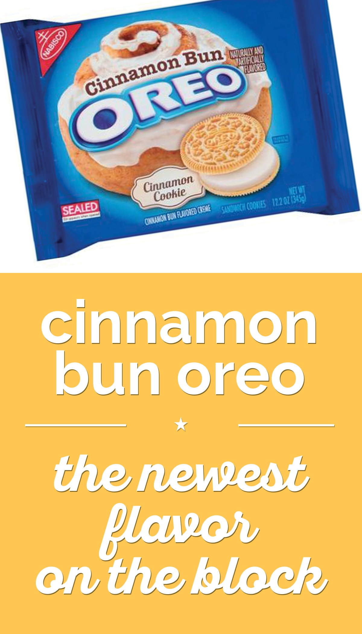 Cinnamon Bun Oreo: The Newest Flavor on the Block | thegoodstuff
