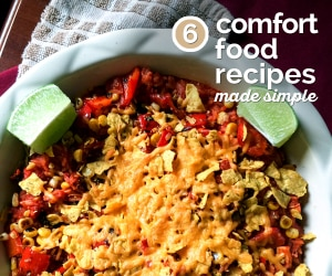 6 Comfort Food Recipes Made Simple | thegoodstuff