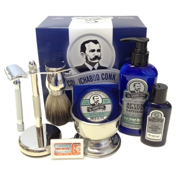 Warm Up with a Wonderful Winter Sale — Overstock Men's Old Timey Shave Sets