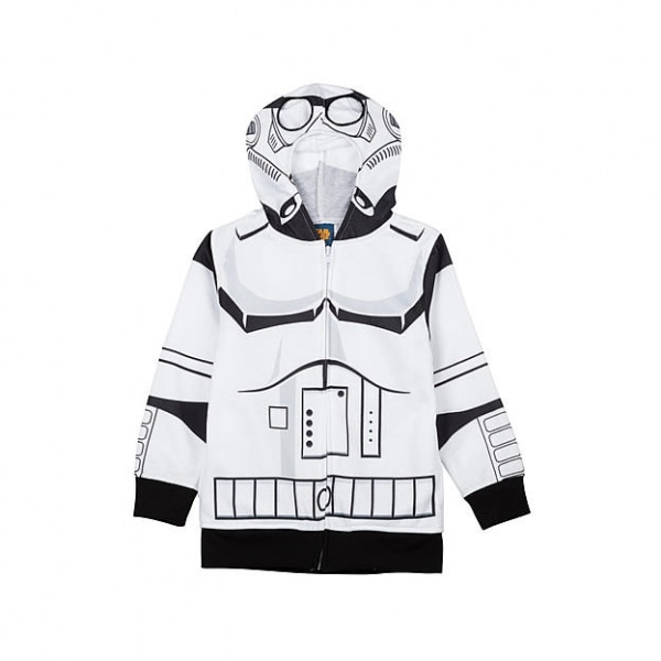Warm Up with a Wonderful Winter Sale — Sears Boy's Star Wars Stormtrooper Hoodie