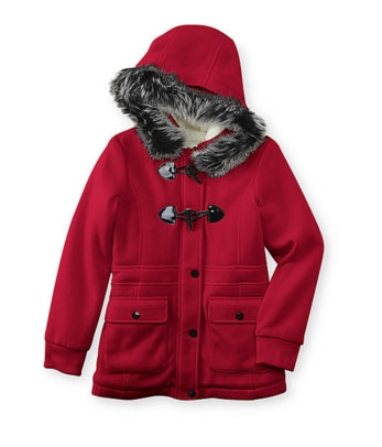 Warm Up with a Wonderful Winter Sale — Sears Girl's Fleece-Lined Jacket
