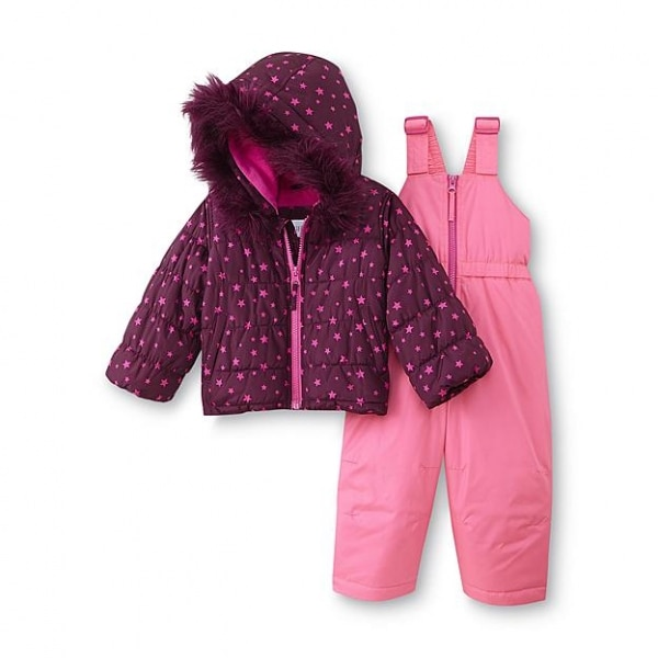 Warm Up with a Wonderful Winter Sale — Sears Infant Girl's Ski Jacket & Snow Pants