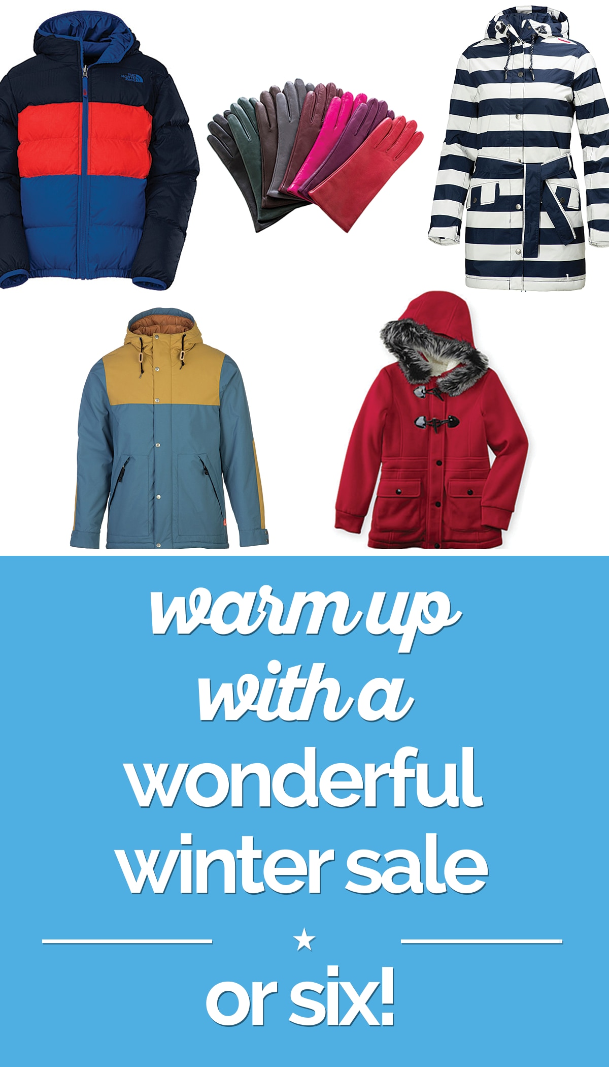 Warm Up with a Wonderful Winter Sale — Or Six! | thegoodstuff