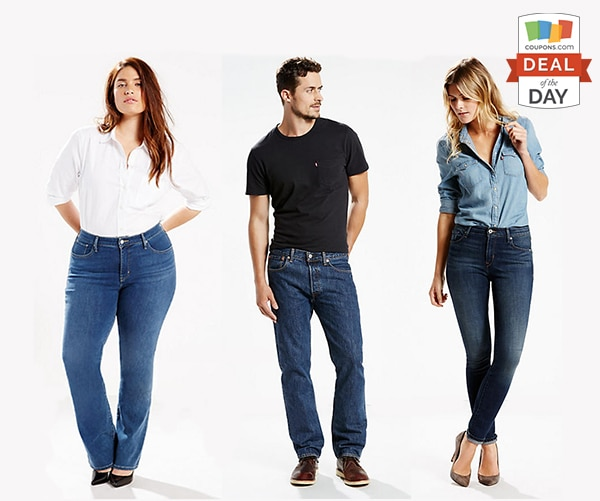 Deal of the Day: 30% Off Levi's Jeans | thegoodstuff
