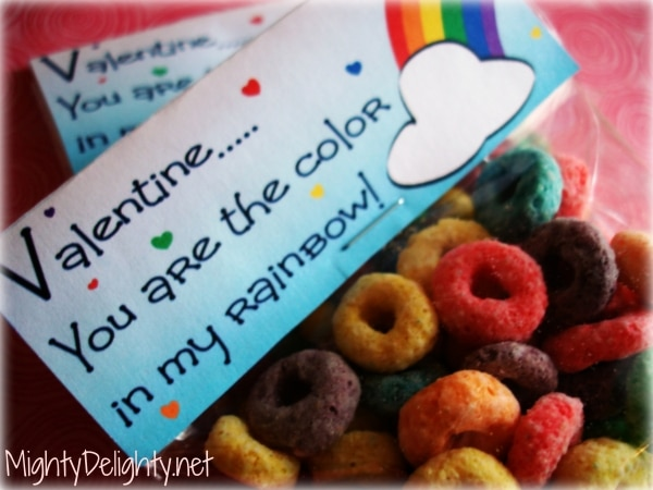 6 Cereal Valentines for Kids | thegoodstuff