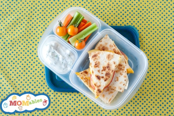 Apple-Cheddar Quesadillas