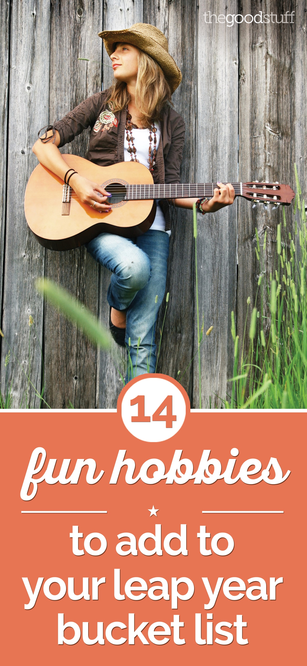 14 Fun Hobbies to Add to Your Leap Year Bucket List | thegoodstuff