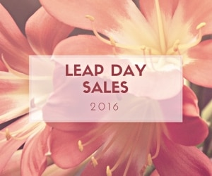 Leap Day Sales to Brighten Your Winter | thegoodstuff