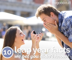 10 Leap Year Facts We Bet You Didn't Know! | thegoodstuff