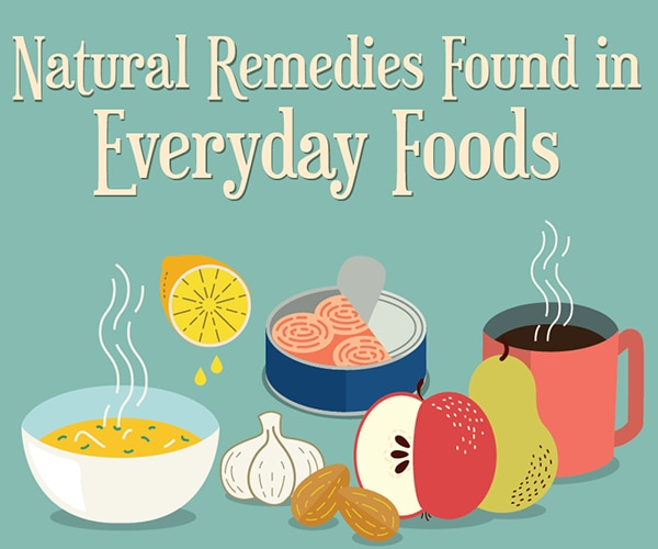 9 Natural Remedies Found in Everyday Foods | thegoodstuff