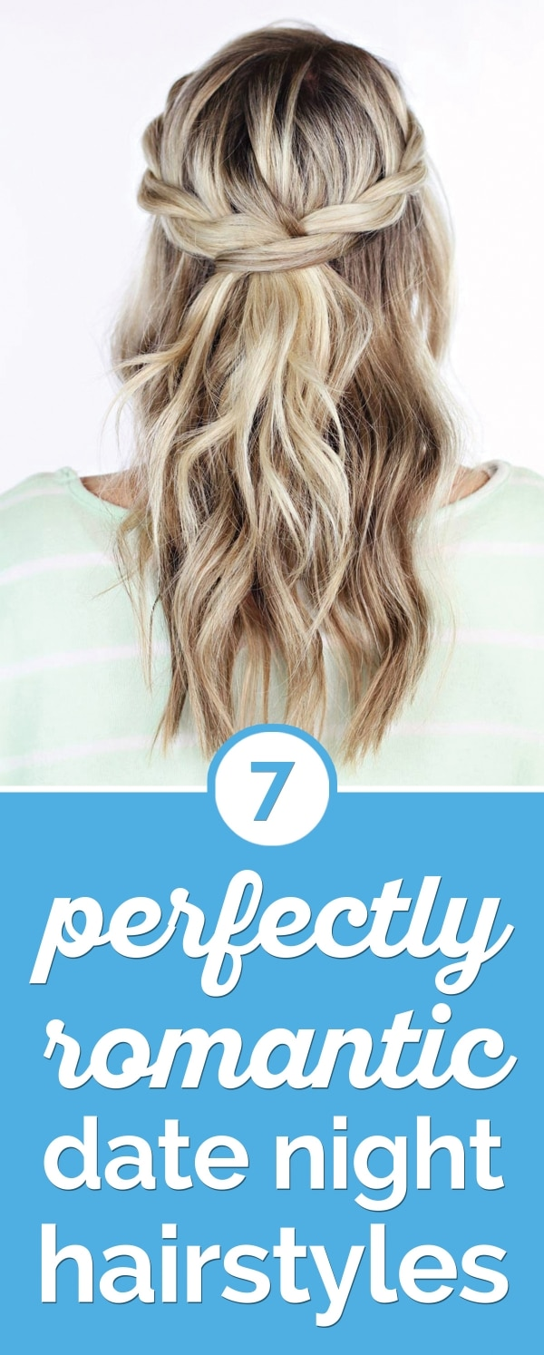7 Perfectly Romantic Date Night Hairstyles | thegoodstuff