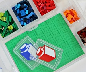 Make Your Own DIY Lego Travel Box | thegoodstuff