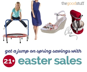 Get a Jump on Spring Savings With 21 Easter Sales | thegoodstuff