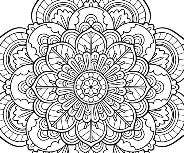Adult Coloring Pages Interesting Express Yourself 11 Free Adult Coloring Pages  Thegoodstuff Inspiration Design