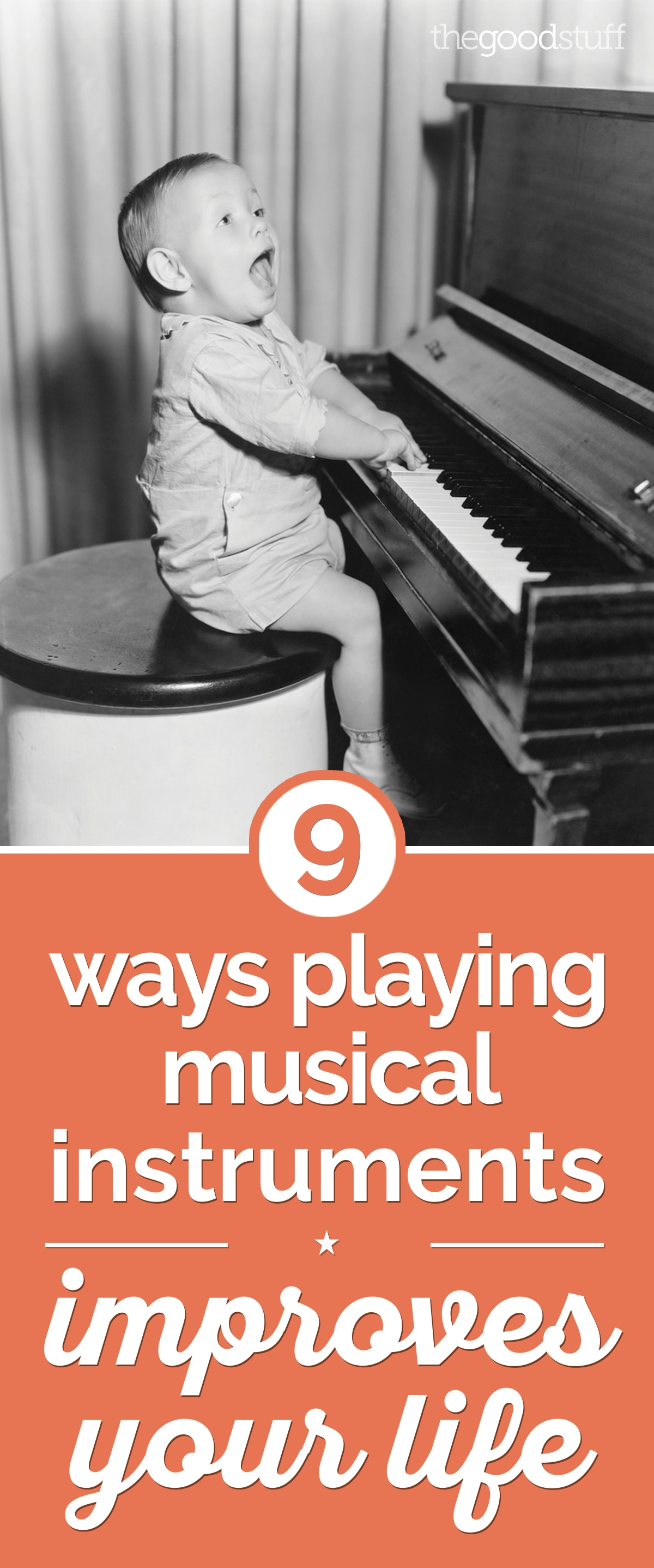 9 Ways Playing Musical Instruments Improves Your Life | thegoodstuff