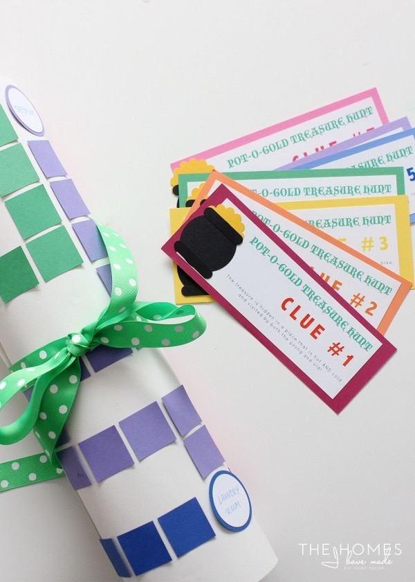 A Lucky DIY Craft: St. Patrick's Day Scavenger Hunt | thegoodstuff