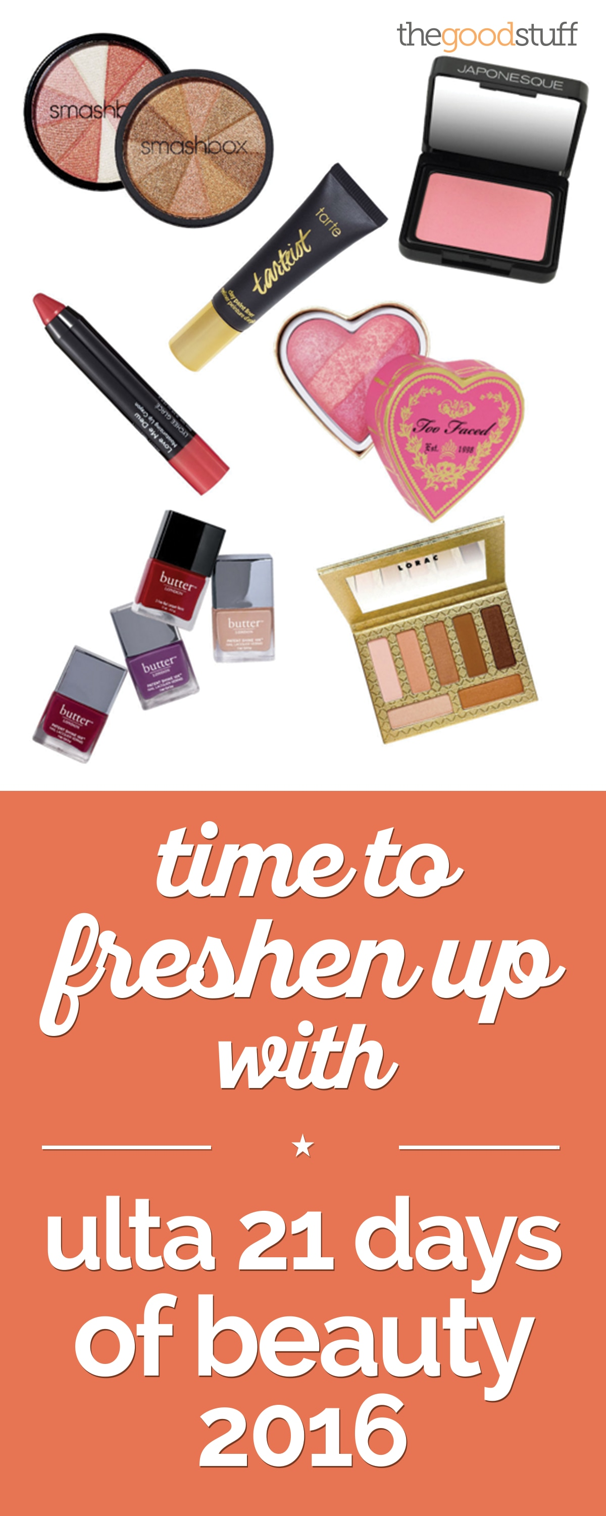 Time to Freshen Up with Ulta 21 Days Of Beauty 2016 | thegoodstuff