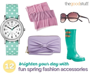Brighten Your Day With 12 Fun Spring Fashion Accessories | thegoodstuff