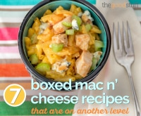 7 Boxed Mac n' Cheese Recipes That Are On Another Level | thegoodstuff