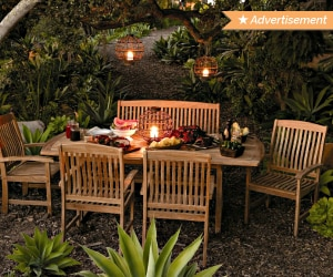 16 Ways to Create the Perfect Space for Dining al Fresco | thegoodstuff
