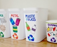 Earth Day Craft: DIY Recycling Center for Kids | thegoodstuff