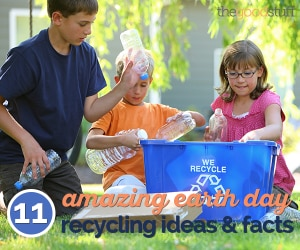 11 Amazing Earth Day Recycling Ideas & Facts | thegoodstuff