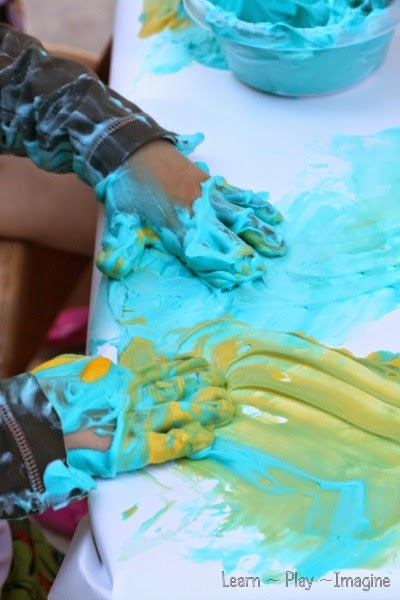 6 Shaving Cream Art Projects for Kids | thegoodstuff