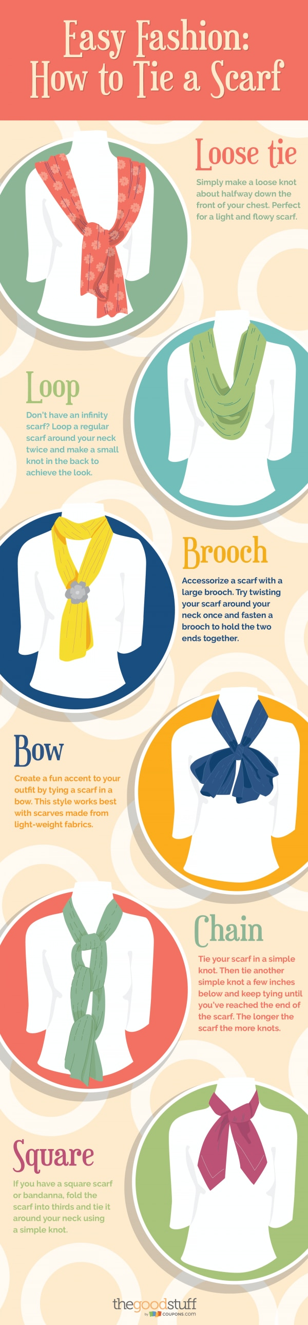 Easy fashion how to tie a scarf thegoodstuff easy fashion how to tie a scarf thegoodstuff ccuart Choice Image