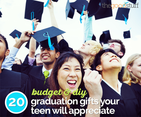 20 Budget & DIY Graduation Gifts Your Teen Will Appreciate | thegoodstuff
