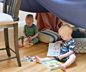 No Adults Allowed! Make a DIY Fort in a Bag Kit for Kids | thegoodstuff