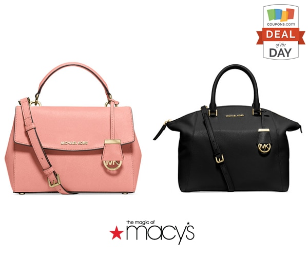 DOD-Macys. Right now you can save big on these Michael Kors handbag ...