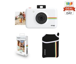 Deal of the Day: 27% Off Polaroid Snap Bundle