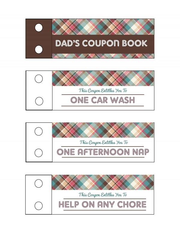 Show Dad Some Love With Printable Father's Day Coupons | thegoodstuff
