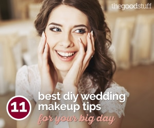 11 Best DIY Wedding Makeup Tips for Your Big Day | thegoodstuff
