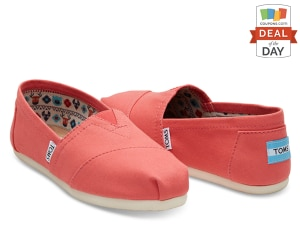 Deal of the Day: 15% Off Your Order at TOMS