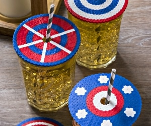 Make This Easy 4th of July Craft for Your Next Barbecue! | thegoodstuff
