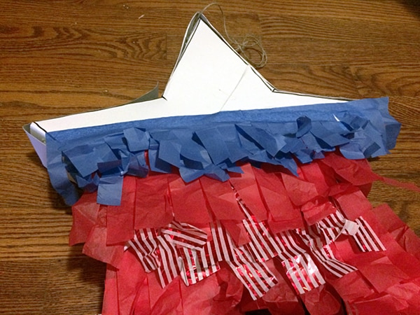 How to Make a 4th of July DIY Piñata for Just $3! | thegoodstuff